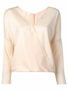 Vince crossover top - PINK