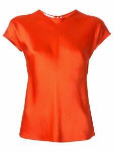 Helmut Lang cap sleeve top - Red