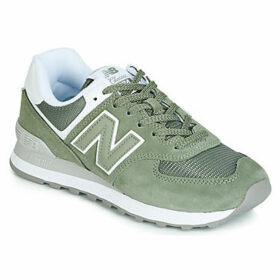 New Balance  WL574  women's Shoes (Trainers) in Green