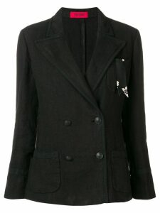 The Gigi Sandra double-breasted blazer - Black