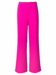 P.A.R.O.S.H. wide-leg cropped trousers - PINK