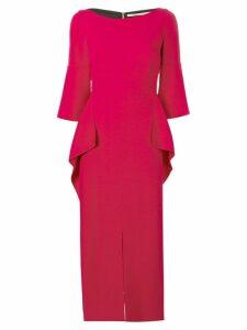 Roland Mouret Crane dress - Red