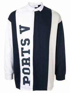 Ports V logo sweatshirt - Blue