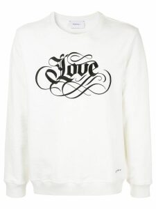 Ports V embroidered sweatshirt - White