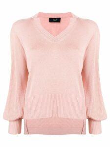 Maison Flaneur knitted jumper - Pink