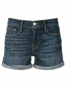 FRAME denim short shorts - Blue