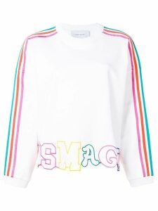 Mira Mikati It's Magic cut-out sweatshirt - White