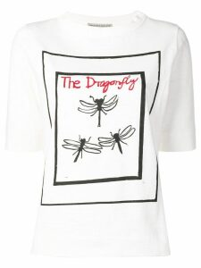 Holland & Holland The Dragonfly print T-shirt - White