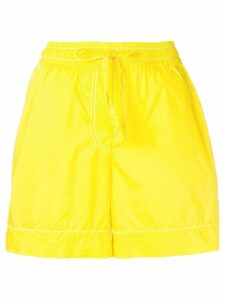 P.A.R.O.S.H. elasticated waist shorts - Yellow