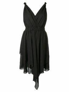 Pinko sleeveless flared dress - Black