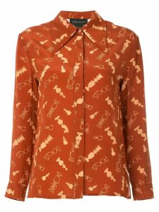 Karen Walker Silent Move shirt - Red