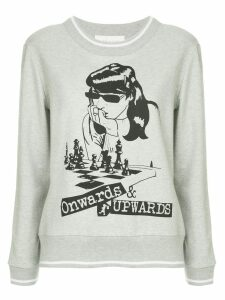 Karen Walker Onwards & Upwards sweatshirt - Grey