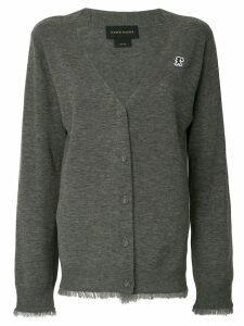 Karen Walker Wild Fray cardigan - Grey