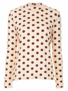 Karen Walker Tarrasch turtleneck top - Pink