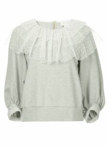 Karen Walker En Passant sweatshirt - Grey