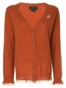 Karen Walker Wild Fray cardigan - Brown