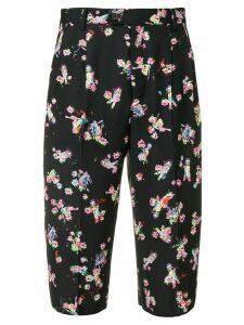 Maison Margiela floral print bermuda shorts - Black