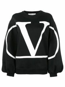Valentino VLOGO sweatshirt - Black