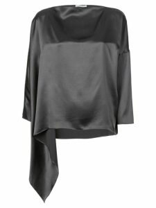 Dusan asymmetric blouse - Grey
