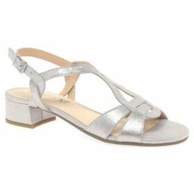 Caprice  Atmosphere Womens Dress Sandals  women's Sandals in Silver