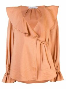 Rejina Pyo Riley blouse - ORANGE
