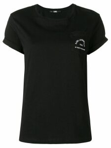 Karl Lagerfeld chest pocket T-shirt - Black