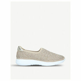 Carla knitted fabric trainers