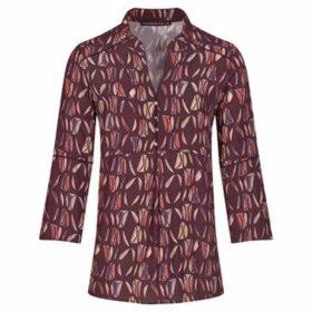 Mado Et Les Autres  DOUCE printed blouse  women's Blouse in Brown