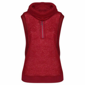 Mado Et Les Autres  VEGETAL sleeveless mohair sweater  women's Sweater in Red