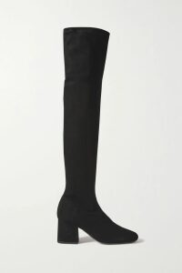 Current/Elliott - The Twisted Striped Stretch-cotton Jersey Tank - Navy