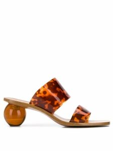 Cult Gaia Jila sandals - Brown