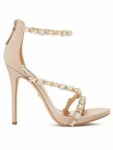 Badgley Mischka Quest embellished sandals - PINK