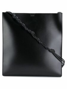 Jil Sander oversized shoulder bag - Black