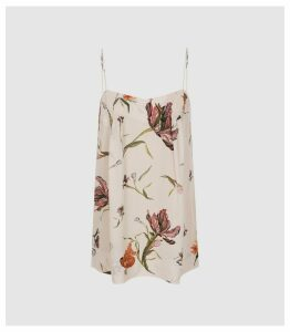 Reiss Lois - Floral Cami Top in Multi, Womens, Size 14