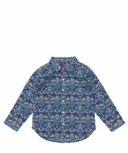 Strawberry Thief Tana Lawn Cotton Long-Sleeve Shirt 2-10 Years