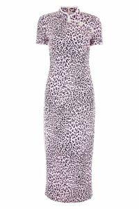 Alessandra Rich Leopard-printed Dress