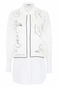 Jil Sander Woman Print Shirt