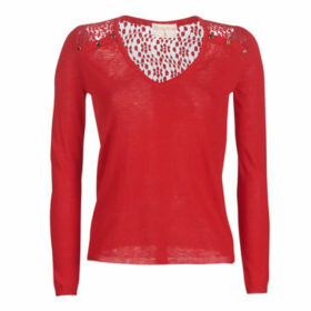 Moony Mood  KOEPS  women's Sweater in Red