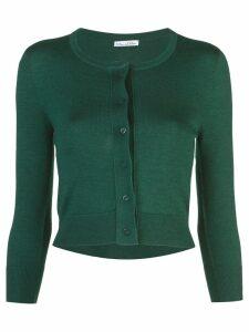 Oscar de la Renta buttoned cardigan - Green