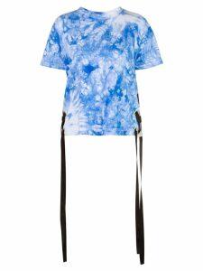 Sacai tie dye T-shirt - Blue
