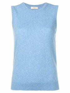 Pringle of Scotland sleeveless knitted top - Blue