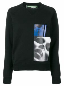 Dsquared2 x Mert & Marcus 1994 printed patch sweatshirt - Black