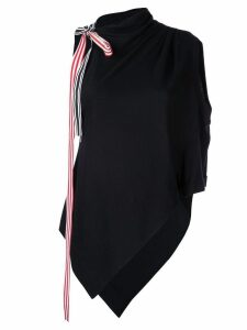 Monse asymmetrical blouse - Black