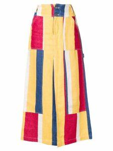 Études Études X Karl Kani Personnage skirt - Yellow