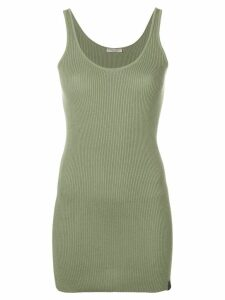 Bottega Veneta ribbed knit tank top - Green