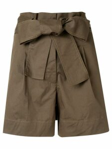 Silvia Tcherassi Orchard shorts - Green