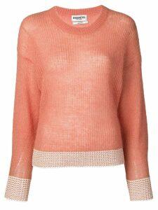 Essentiel Antwerp ribbed knit sweatshirt - Orange