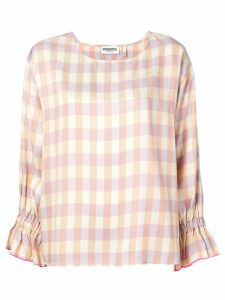 Essentiel Antwerp check blouse - Neutrals