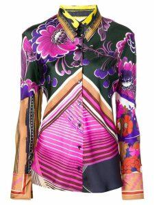 Chloé Caravan print shirt - PINK