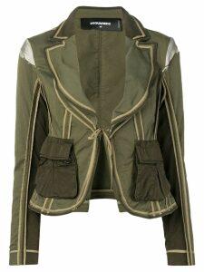 Dsquared2 utility pocket blazer - Green